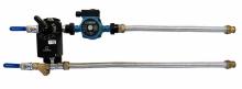 Смесительный узел для воздухонагревателя с гибкой подводкой (схема 2)
