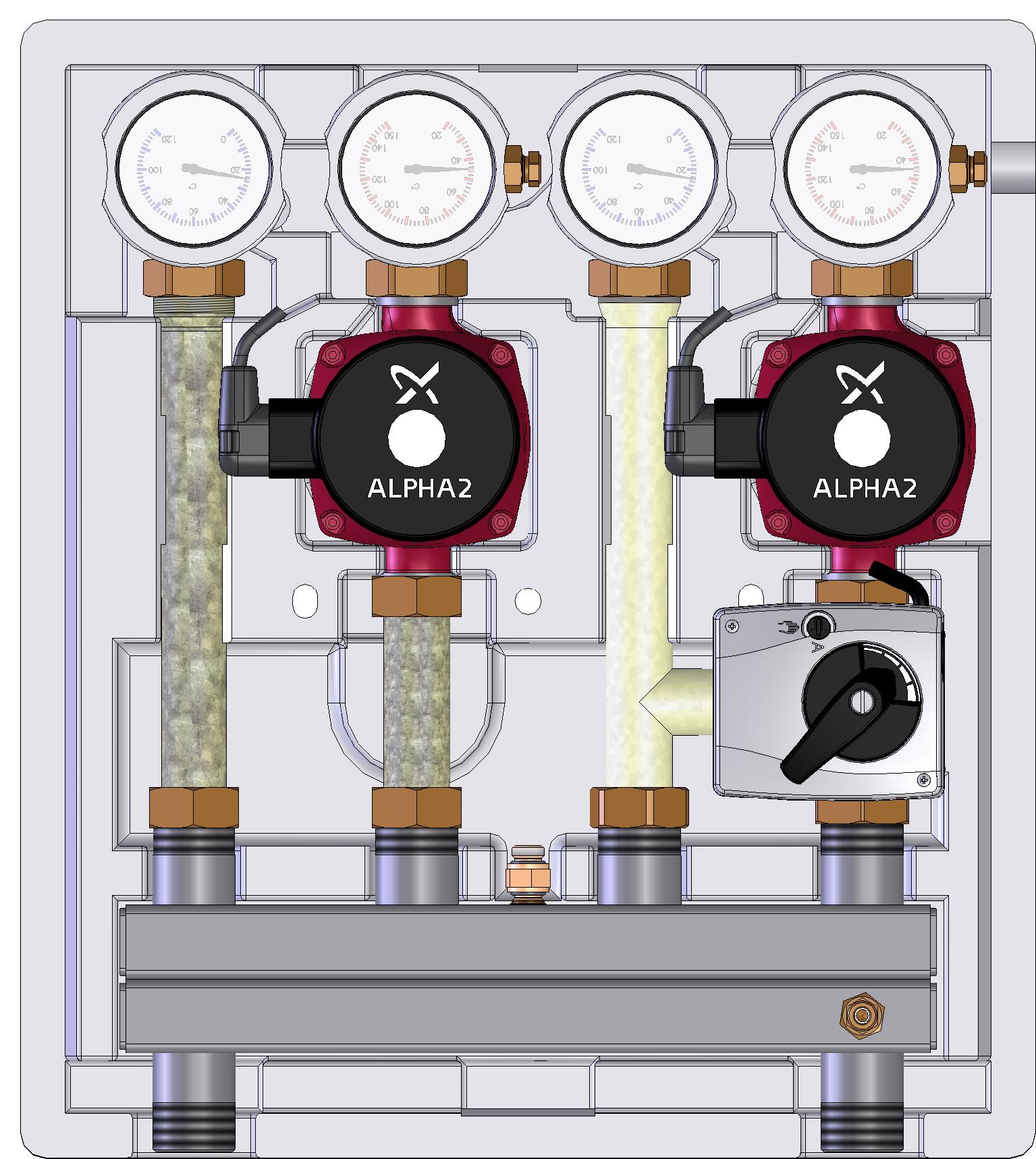 Kombimix - насосно-смесительный модуль