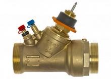 Клапан балансировочный регулирующий комбинированный IMI TA Modulator латунный (AMETAL) резьбовой PN16