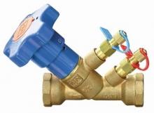 Клапан балансировочный VIR 9515 латунный резьбовой PN25