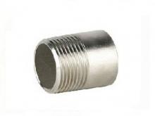 Фитинг: Ниппель под приварку GENEBRE 0149 нерж. сталь, резьба/сварка, PN20