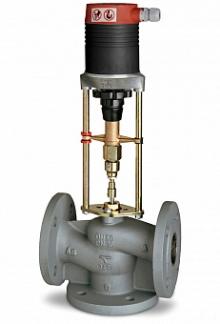 Клапан регулирующий трехходовой IMI TA CV316 GG чугунный фланцевый PN16