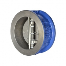 Клапан обратный двухстворчатый Genebre 2401 чугунный межфланцевый PN16