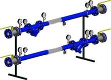 Узлы ввода для прсоединения к тепловым сетям