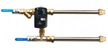 Cмесительный узла для воздухоохладителя c гибкой подводкой (схема 2)