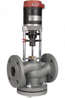 Клапан регулирующий двухходовой IMI TA CV216 GG чугунный фланцевый PN16
