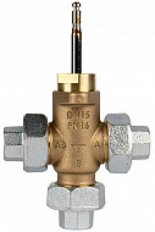 Клапан регулирующий двухходовой IMI TA CV216 RGA бронзовый с комплектом накидных гаек PN16