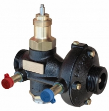 Клапан балансировочный регулирующий комбинированный IMI TA KTM 512, чугун, резьба, без измерительных штуцеров