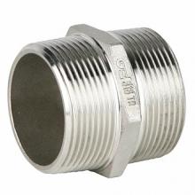 Фитинг: Ниппель GENEBRE 0280 нерж. сталь, резьбовой, PN20