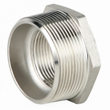 Фитинг: Футорка GENEBRE 0241 нерж. сталь, резьбовой, PN20