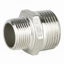 Фитинг: Переходной ниппель GENEBRE 0245 нерж.сталь, резьбовой, PN20