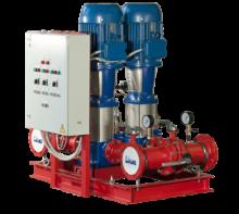 Автоматизированные насосные станции для систем водяного пожаротушения Оптибуст АНПУ с насосами АЦМС