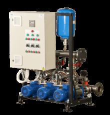 Автоматизированные повысительные насосные установки для систем водоснабжения Экобуст АНУ с насосами HM
