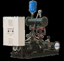 Автоматизированные повысительные насосные установки для систем водоснабжения Максибуст АНУ с насосами NB
