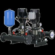 Автоматизированные повысительные насосные установки для систем водоснабжения Максибуст АНУ с насосами CR