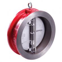 Клапан обратный двухстворчатый RUSHWORK 400 чугунный межфланцевый, PN16