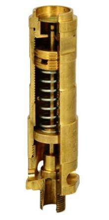 Клапан предохранительный ZETKAMA 782V латунный резьбовой PN25