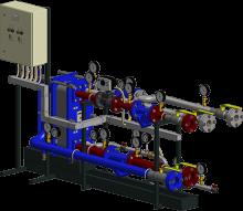 АТП с моноблочным присоединением системы горячего водоснабжения (для регулируемых СО)