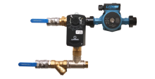 Смесительный узел для водонагревателя (схема 1)